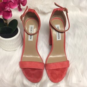 Steve Madden Carrson Coral Suede Size 7.5
